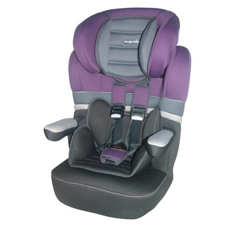 Nania auto sedište Imax 1/2/3 (9-36kg) purple horizon