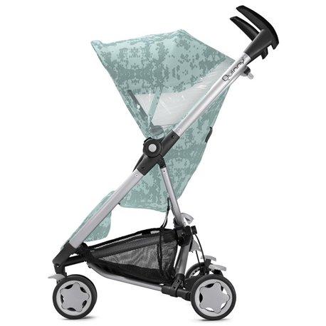 Quinny kolica za bebe Zapp Xtra grey cracle-mint siva