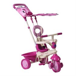 TRICIKLI SMART TRIKE SAFARI FLAMINGO
