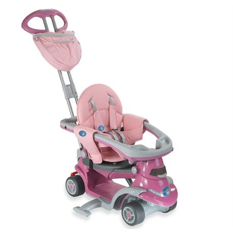 TRICIKLI SMART TRIKE ALL IN ONE STEP 3 PINK