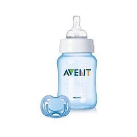 Avent - GIFT SET - FLASICA + VARALICA PLAVA