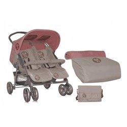 Bertoni - kolica za blizance beige&terracotta