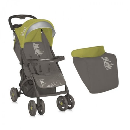 Bertoni - kolica smarty beige&green beloved baby