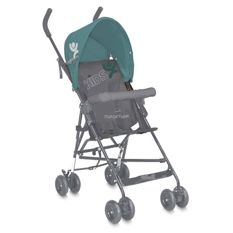 Bertoni - kolica light green&grey kids