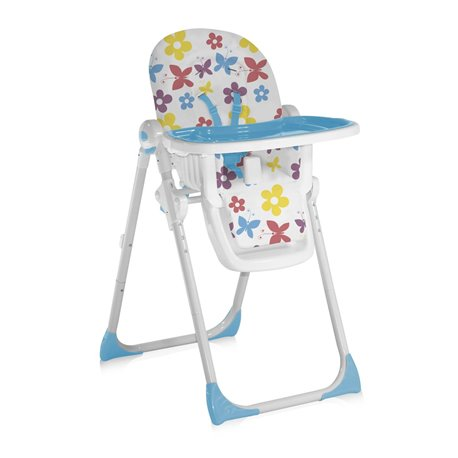 Bertoni - hranilica siesta butterfly  and flowers blue