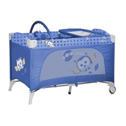 Bertoni - travel kid 2 nivoa blue baby owl