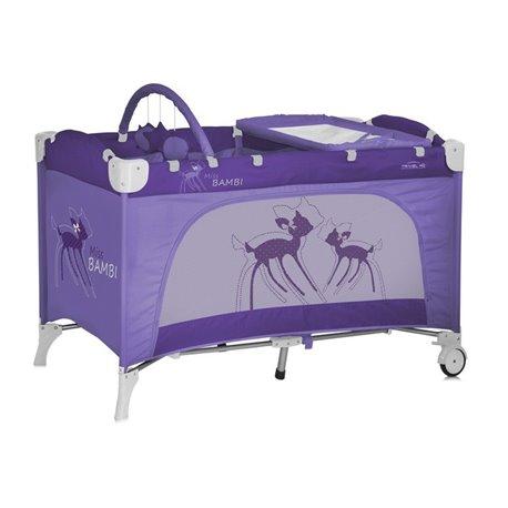Bertoni - travel kid 2 nivoa violet miss bambi