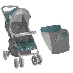 Kolica za bebe SMARTY GREEN&GREY KIDS