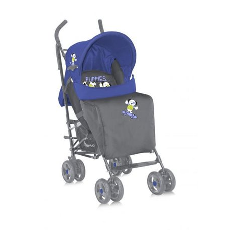 Kolica za bebe Fiesta Blue & Grey Puppies BERTONI