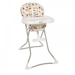 Graco Visoka stolica za bebe Tea Time Garden friends