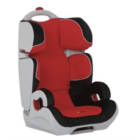 Hauck auto sedište Bodyguard 15-36kg 2/3 crno crvena