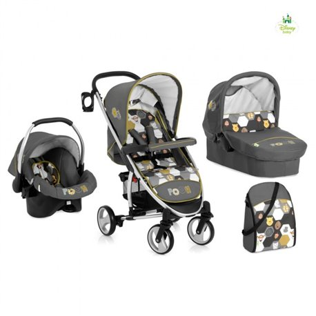 Hauck trio sistem (kolica+nosiljka+auto sedište) Malibu Pooh Spring