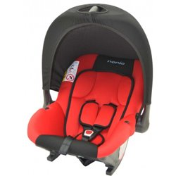 Nania Baby Ride auto sedište 0-13kg 0+ Paprika - crvena