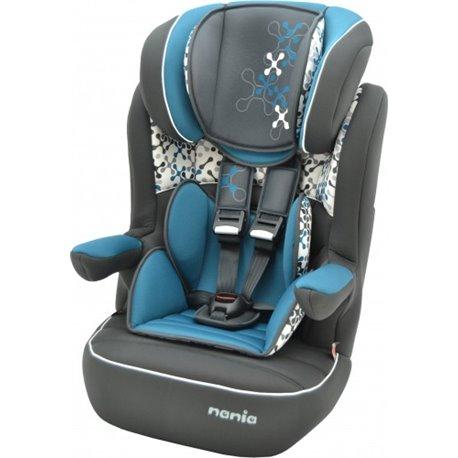 Nania I-max auto sedište 9-36kg 1/2/3 Corail petrole - plavo