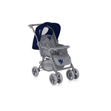 Bertoni kolica za bebe Combi Blue&Grey