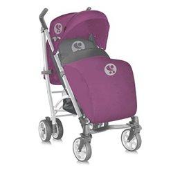 Bertoni kolica S-200 + zimska navlaka pink&gray Lorelli