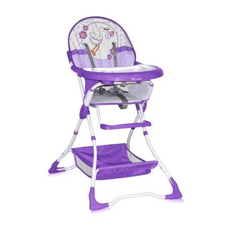 Bertoni Lorelli Visoka stolica za bebe Bravo Violet Stork