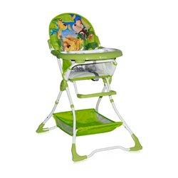 Bertoni Lorelli Visoka stolica za bebe Bravo Green Jungle