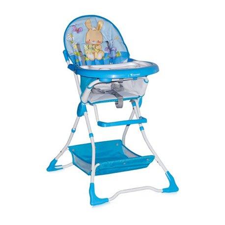 Bertoni Lorelli Visoka stolica za bebe Bravo Blue Bunny
