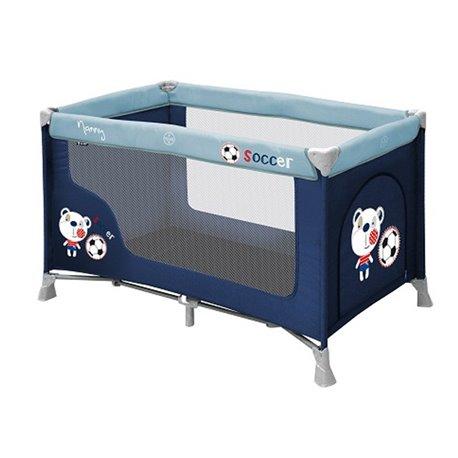 Bertoni krevet torba Nanny 1 nivo blue soccer