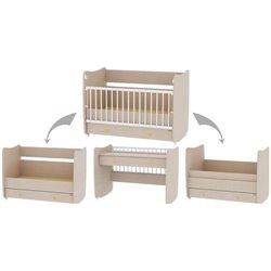 Bertoni Drveni krevetac za bebu Dream White