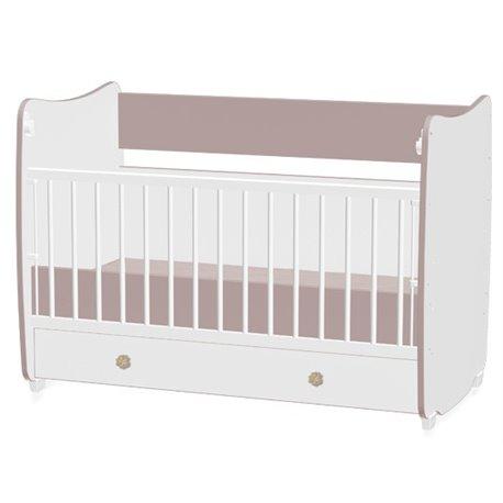 Bertoni Drveni krevetac za bebu Dream White Capuccino
