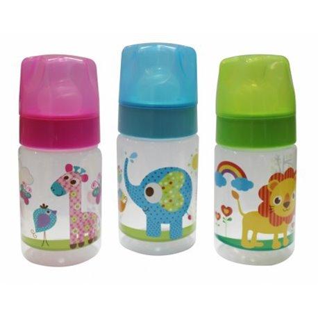 Flašica Baby Care - Zoo 125 ml