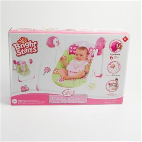 Bright Starts Ljuljaška za bebe Meadow Blossoms SKU60009