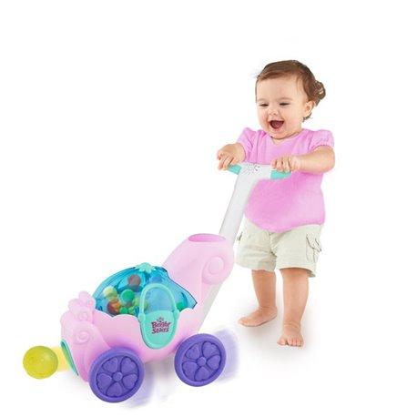 Bright Starts Dečja guralica - hodalica Zabavni ružičasti avion