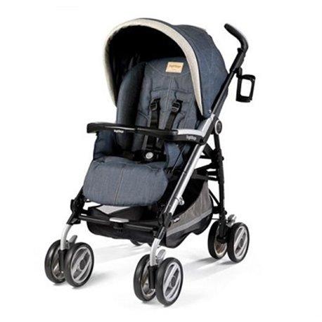 Peg perego - kolica za bebe p3 compact classico denim