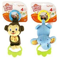 Bright Starts Bebi zvučna igračka Majmunče / Slonče