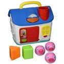 Bright Starts Edukativna igračka - Kućica sa oblicima Tri praseta