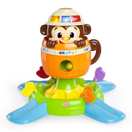 Bright Starts Edukativna igračka Majmunčić se skriva i vrti
