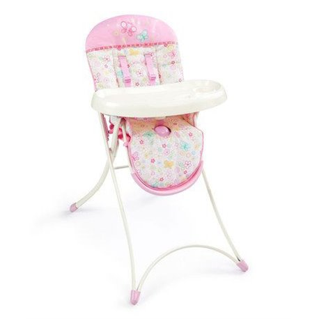 Bright Starts Visoka stolica za bebe Lepršave Tufnice