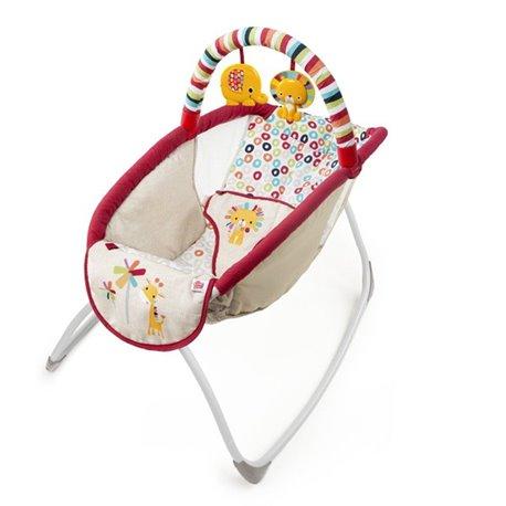 Bright Starts Kolevka - ležaljka za bebu sa vibracijom Playful Pinwheels