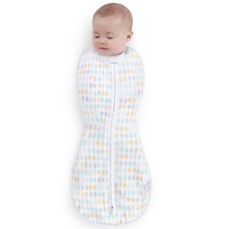 Comfort&Harmony by Bright Starts Vreća za bebe za spavanje Restful Raindrops 3-6 meseci
