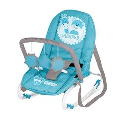 Bertoni Lorelli Ležaljka - njihalica za bebe Top Relax Blue Buddies