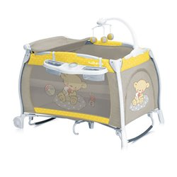 Bertoni krevet torba rocker ilounge 2 nivoa yellow&grey bear