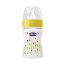 Chicco flašica wellbeing 150ml sa cuclom od silikona, unisex