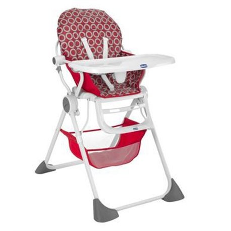 Chicco hranilica Pocket Lunch red wave crvena