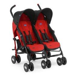 Chicco kolica za blizance Echo Twin garnet crvena