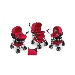 Chicco trio sistem Sprint redwave-crveni(kolica+auto sedište+nosiljka)