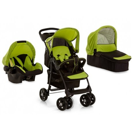 Hauck trio set(kolica+nosiljka+auto sedište)Shopper Caviar kiwi-zelen