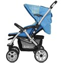 Bertoni - kolica za bebe winner mosaic blue