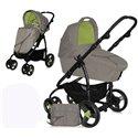 Bertoni - kolica za bebe avio caramel green