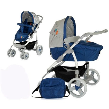 Bertoni - kolica za bebe avio blue fashion