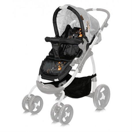 Bertoni - kolica za bebe avio black squares
