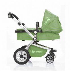 Bertoni - cayenne + korpa cool green kolica za bebe