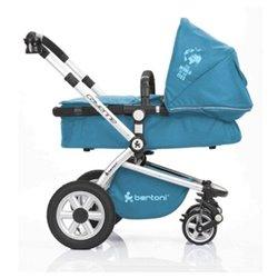 Bertoni - cayenne + korpa mosaic blue kolica za bebe