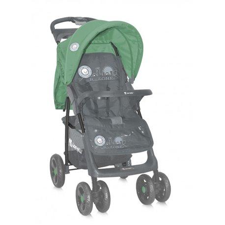 Bertoni - decija kolica foxy sa navlakom gray green b-zone